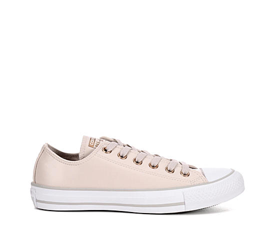 Womens All Star Ox Leather Neutrals