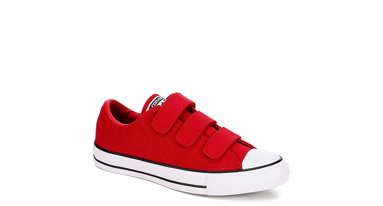 a82152c1aaa2 Red Converse Womens Chuck Taylor All Star 3v Ox