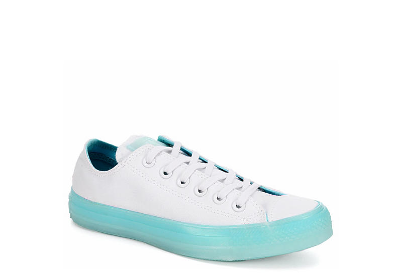 ffe93210ef1 Converse Womens Chuck Taylor All Star Ox Candy Coated - White