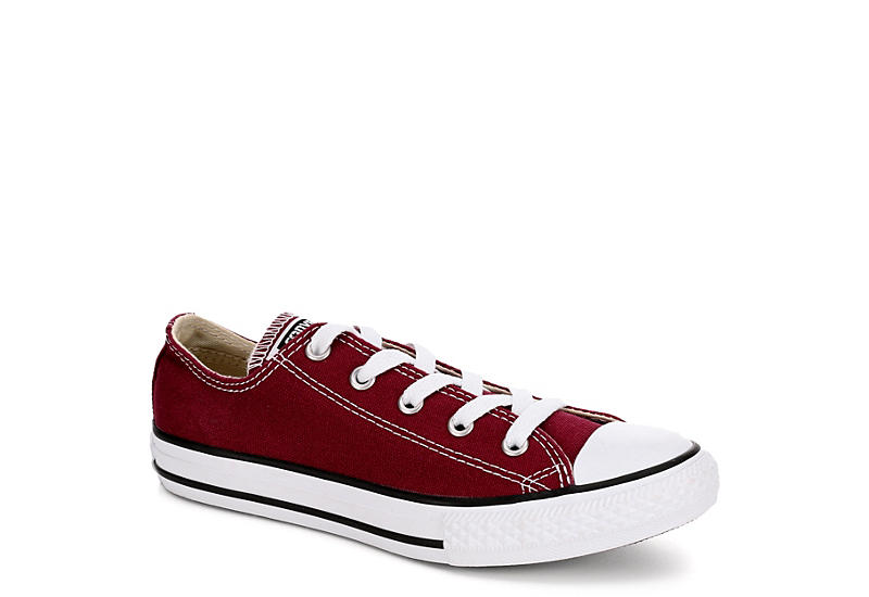 9cffcca1c6768a Converse Womens Chuck Taylor All Star Ox Seasonal - Burgundy