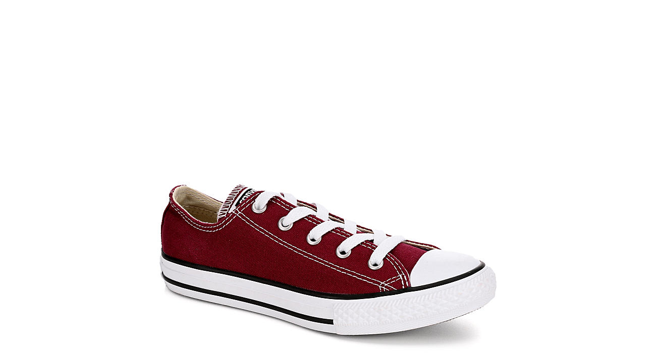 Converse Womens Chuck Taylor All Star Ox Seasonal - Burgundy 44fc4116bad1