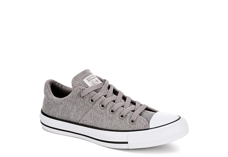 93c93f9216b63a Grey Converse Womens Chuck Taylor All Star Madison Ox Low Pepper ...
