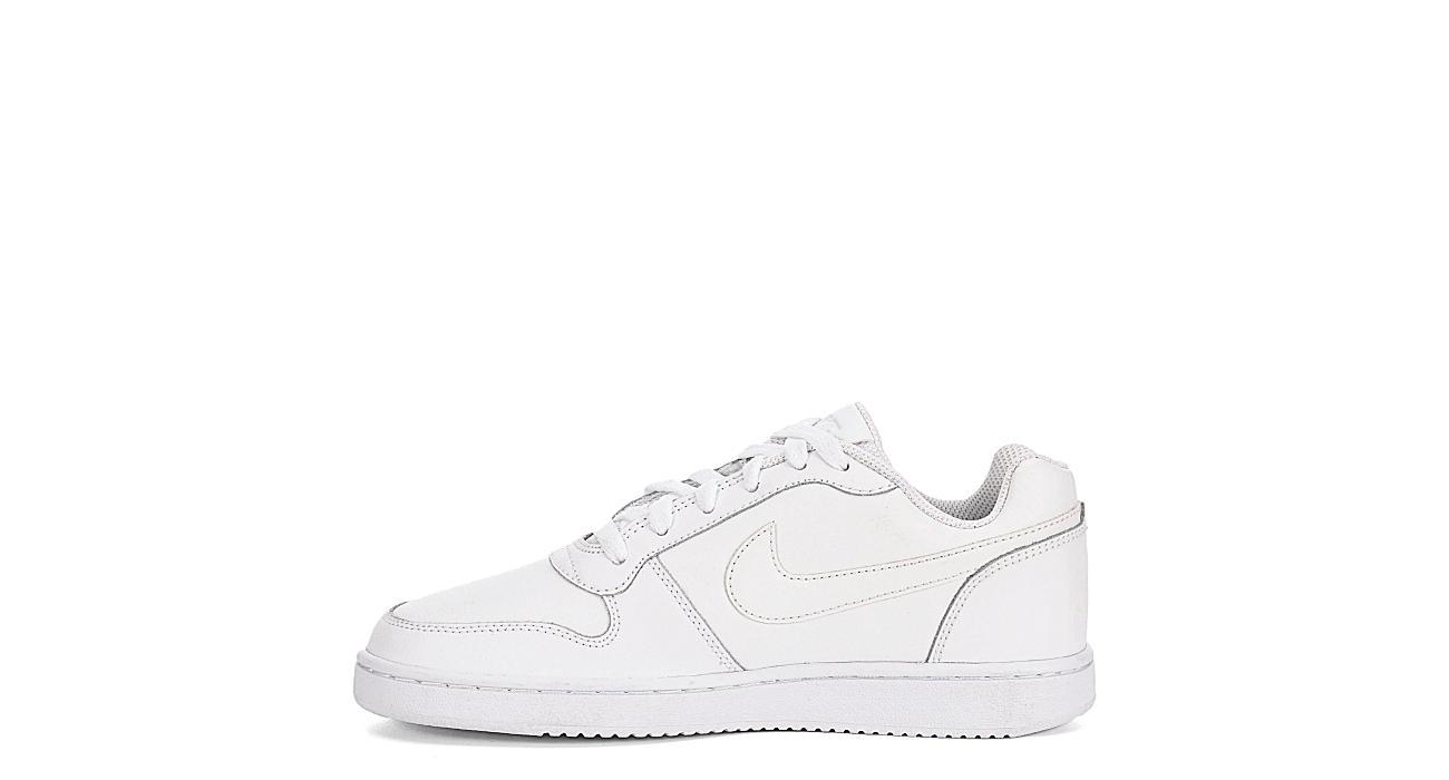a9f7c8b51d3 All White Nike Ebernon Women s Low Top Sneakers