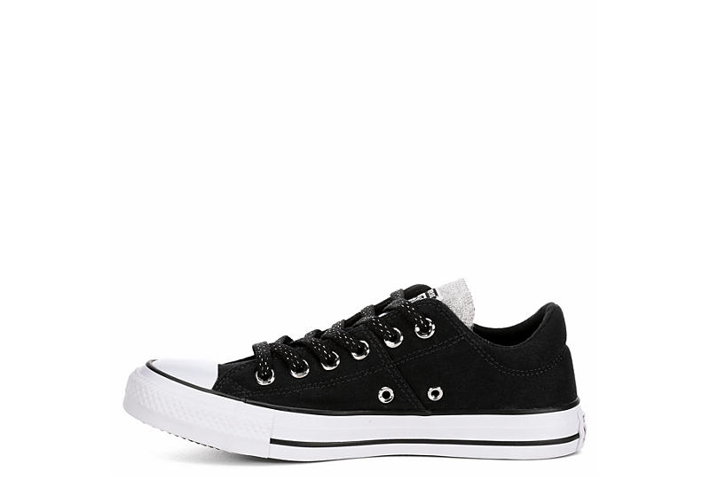 CONVERSE Womens Madison Ox After Party - BLACK
