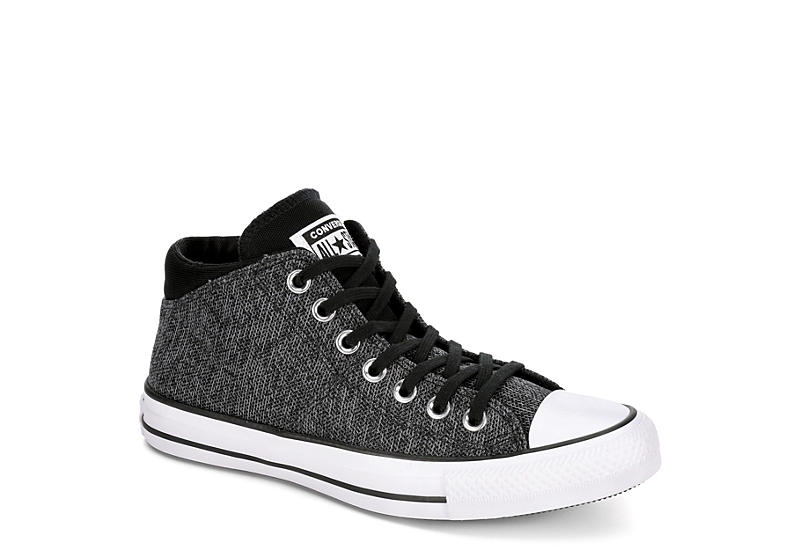 cd2feda28cf Converse Womens Madison Mid Wonderland - Black.  39.99 SALE