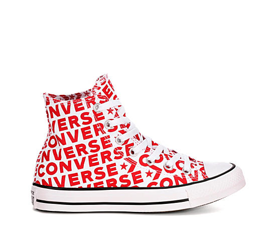Womens Chuck Taylor All Star Hi Classic Wordmark