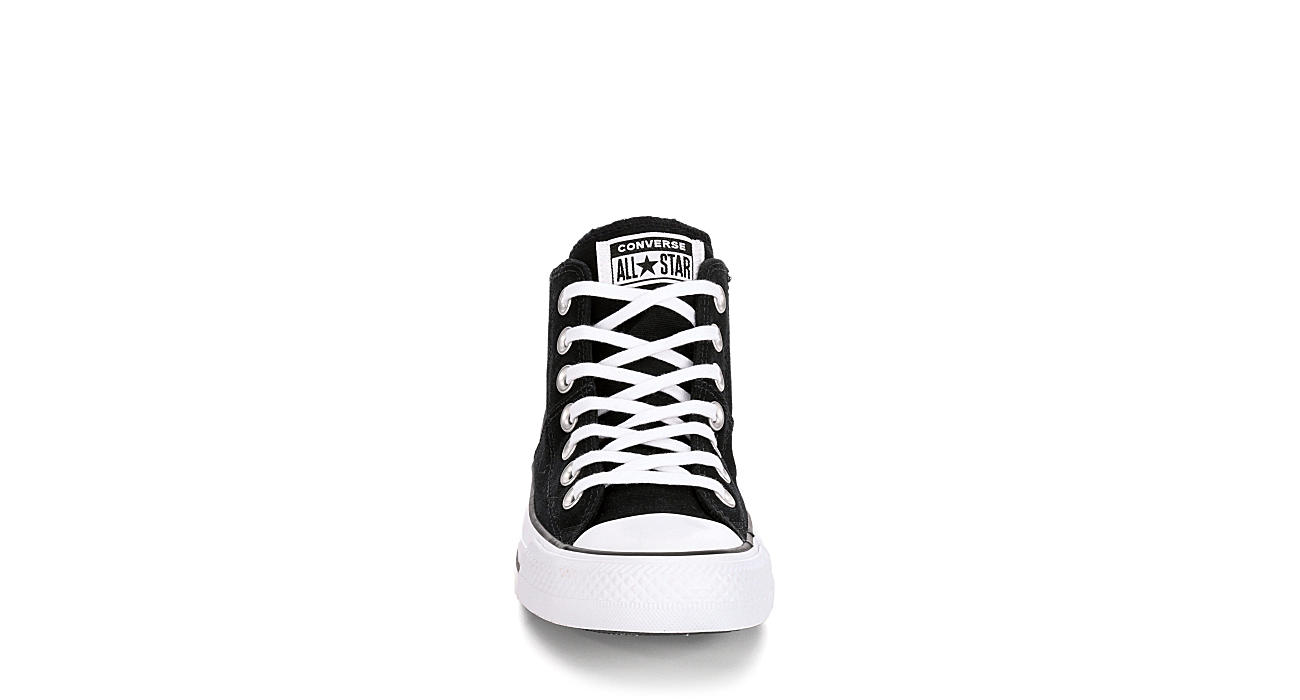 CONVERSE Womens Chuck Taylor All Star Madison Mid Top Sneaker - BLACK