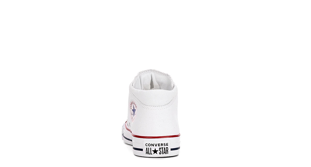 CONVERSE Womens Madison Mid True Faves - WHITE