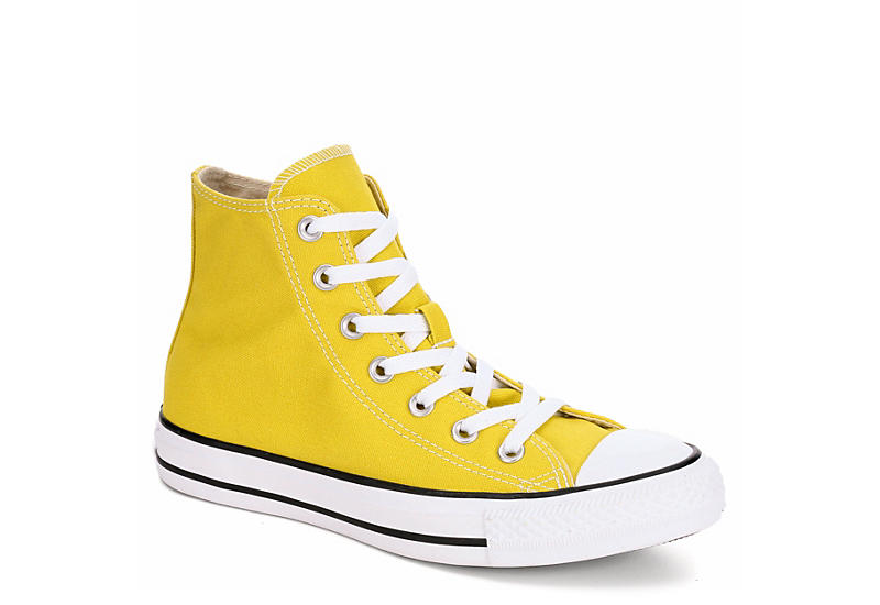 ff1277a20937 Converse Womens Chuck Taylor All Star Seasonal Hi - Bright Yellow