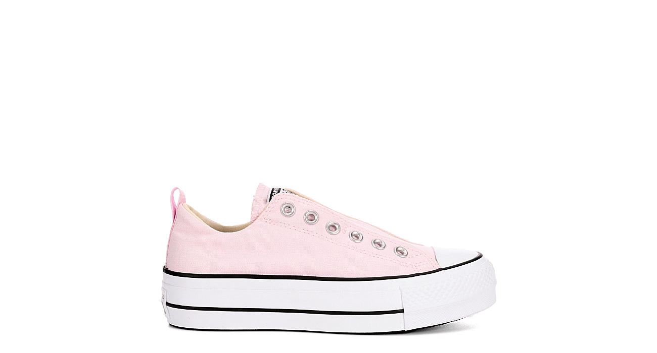 CONVERSE Womens Converse Chuck Taylor All Star Lift Slip Ox - PINK