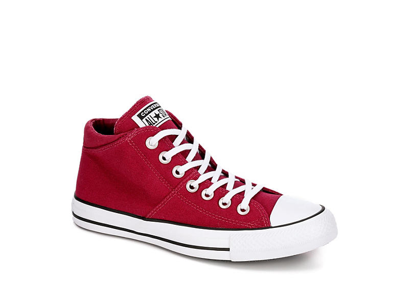 CONVERSE Womens Madison Mid True Faves - BURGUNDY