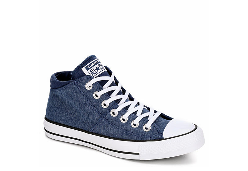 2a96c00d1 Navy Converse Womens Chuck Taylor All Star Madison Court Mid | Athletic |  Rack Room Shoes