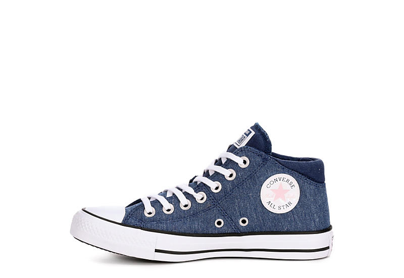 CONVERSE Womens Chuck Taylor All Star Madison Court Mid - NAVY
