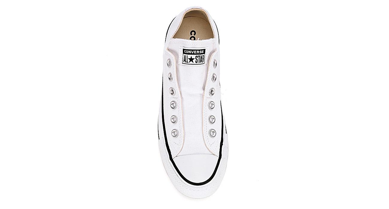 CONVERSE Womens Converse Chuck Taylor All Star Slip Nu - WHITE