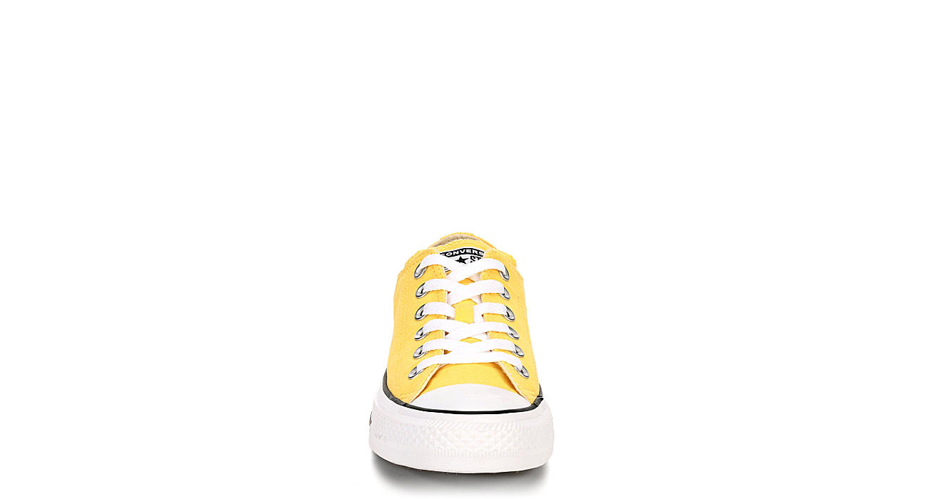 CONVERSE Womens Chuck Taylor All Star Low Top Sneaker - YELLOW