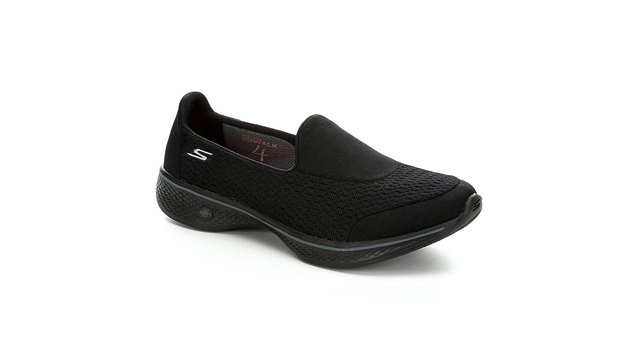Stylish Skechers Go Walk 4 Slip Ons Grey For Women Online Sale