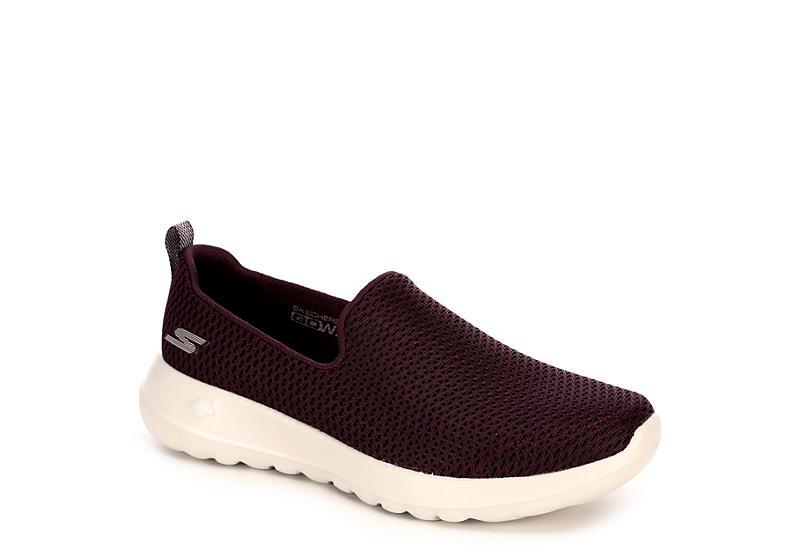 7b539a181791 Burgundy Skechers GOwalk Joy Women s Sneakers