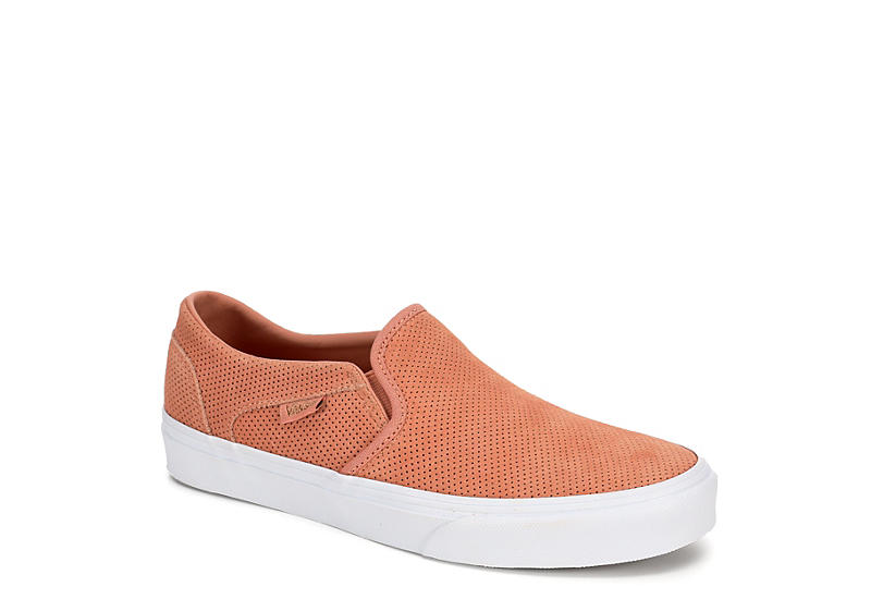 1c3b9a1eb3 Rust Vans Womens Asher Slip-on | Athletic | Rack Room Shoes