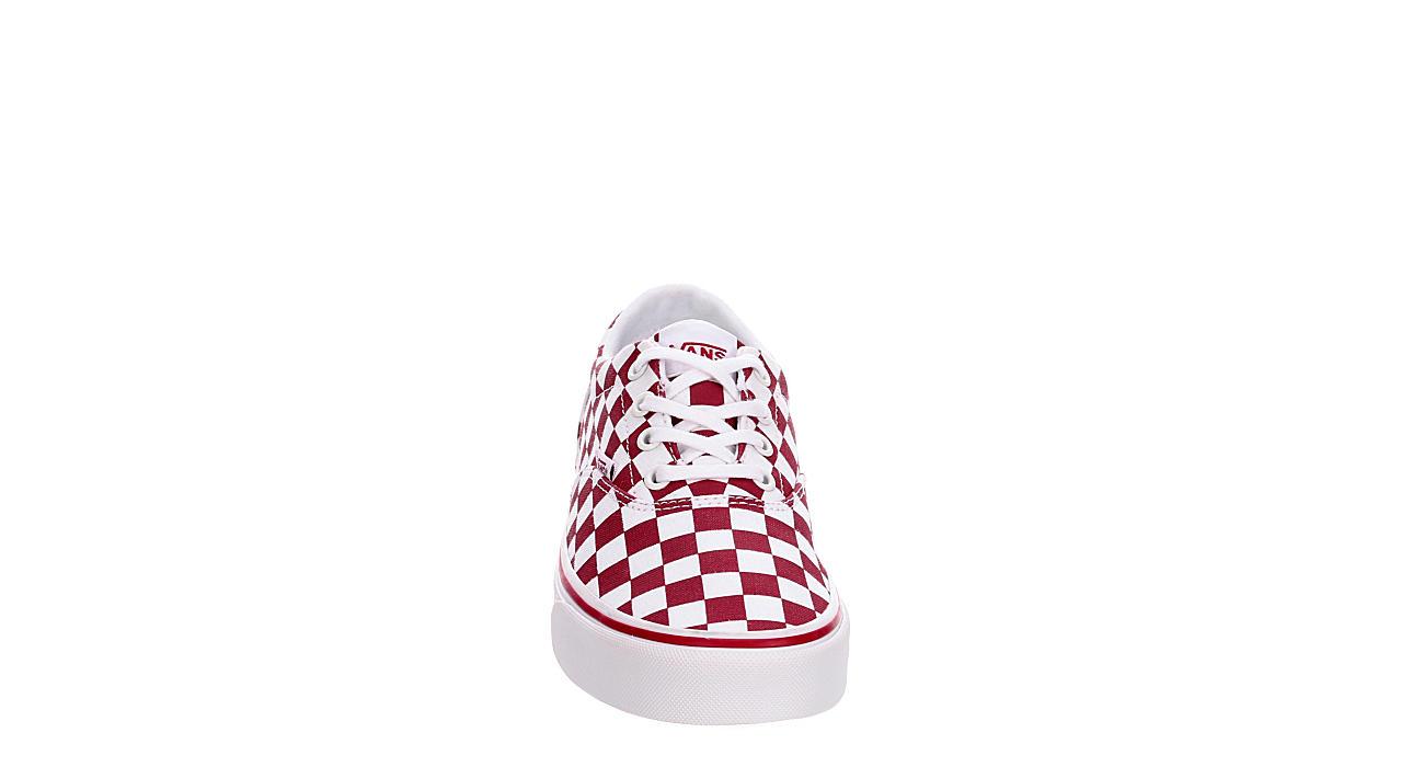 VANS Womens Doheny Sneaker - BURGUNDY