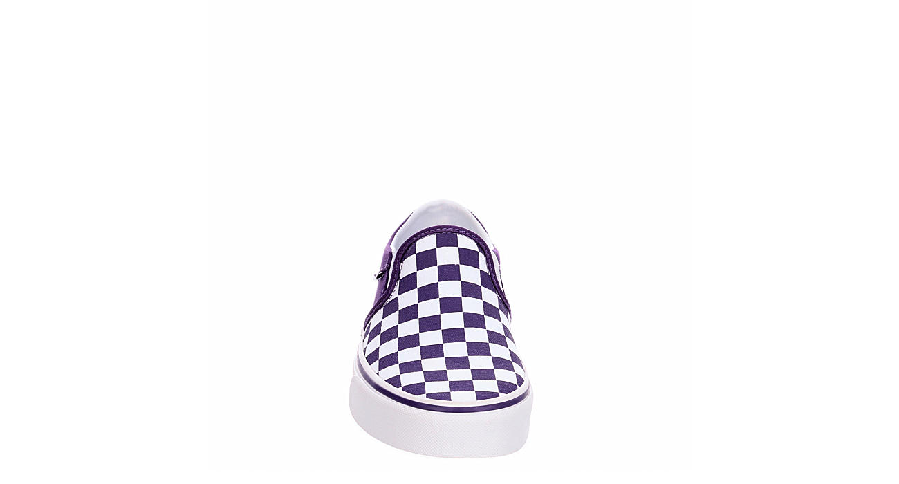 VANS Womens Asher Slip On Sneaker - PURPLE