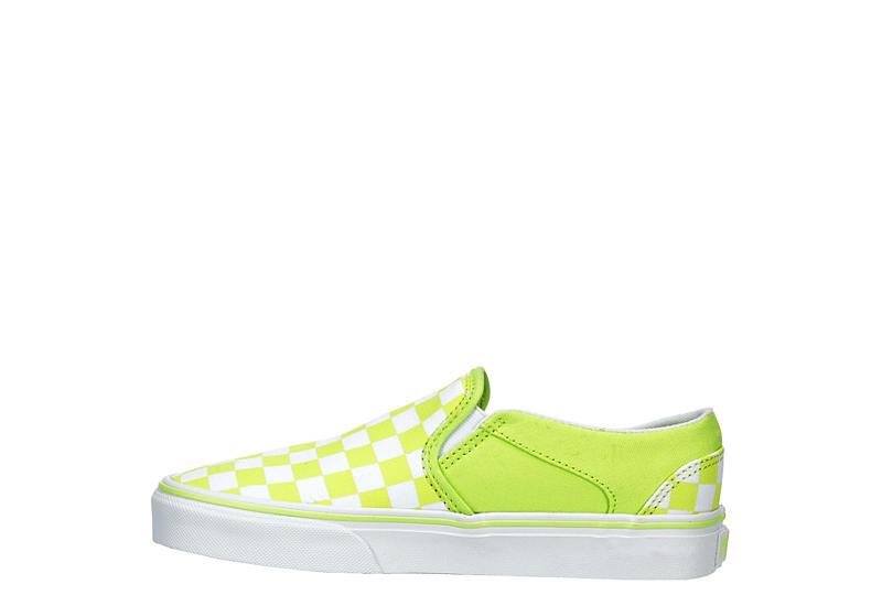 VANS Womens Asher Slip-on - BRIGHT GREEN