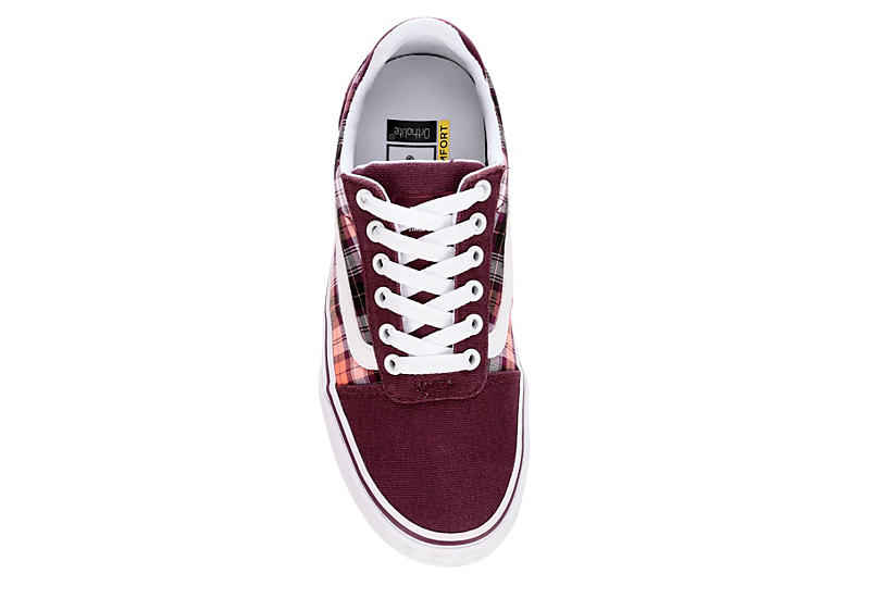 VANS Womens Ward Deluxe - BURGUNDY