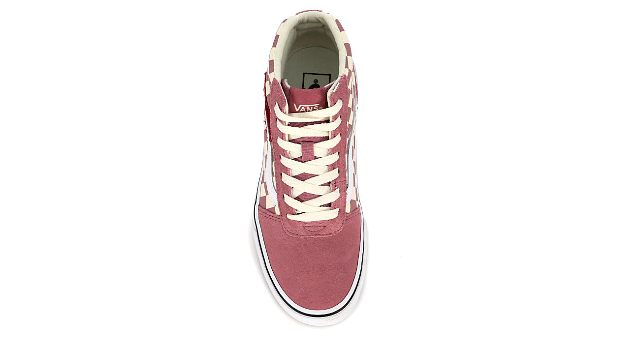 VANS Womens Ward High Top Sneaker - BLUSH