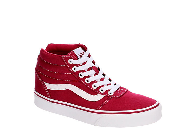 VANS Womens Ward Hi - BRIGHT PINK