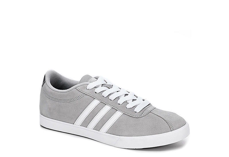 grauen adidas womens courtset sportlich rack room shoes.