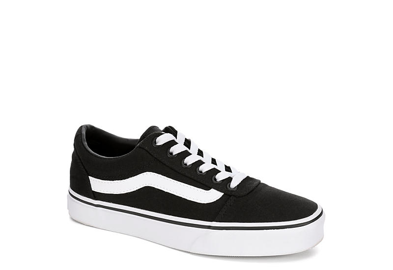 04cc33dd76e491 Black Vans Ward Low Top Women s Sneaker