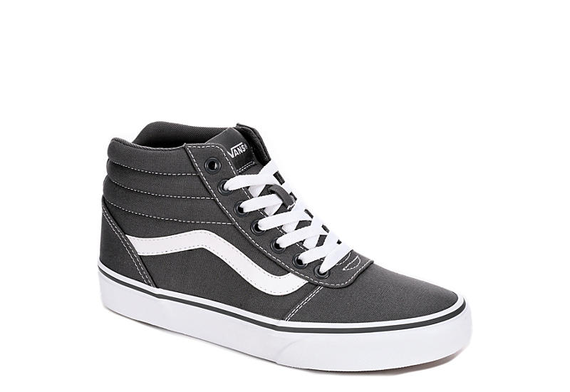3ade743abf5 Grey Vans Ward Women s High Top Sneakers