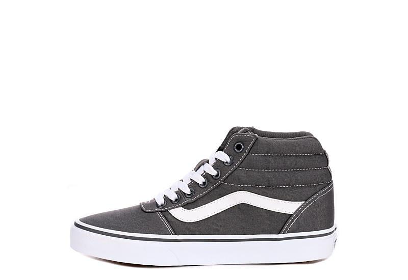 017f4aef86c7 Grey Vans Ward Women s High Top Sneakers