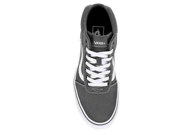 VANS Womens Ward High Top Sneaker - GREY
