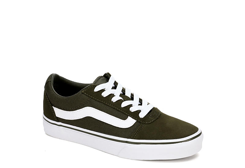 c946f1ff17 Olive Vans Ward Low Top Women s Sneakers
