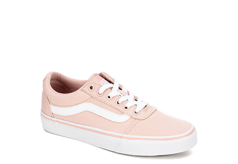 f1511620699 Pink Vans Ward Low Top Women s Sneakers