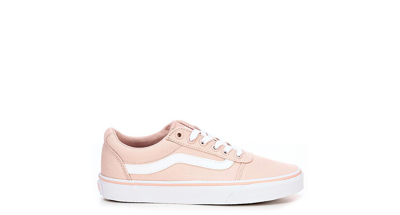ebbd9ce22db Pink Vans Ward Low Top Women s Sneakers