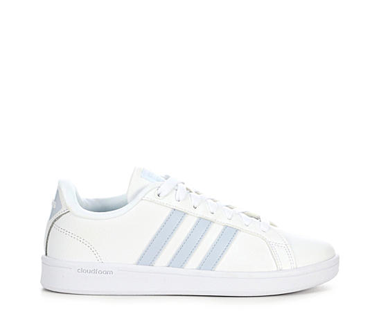 Womens Cloudfoam Advantage Stripes
