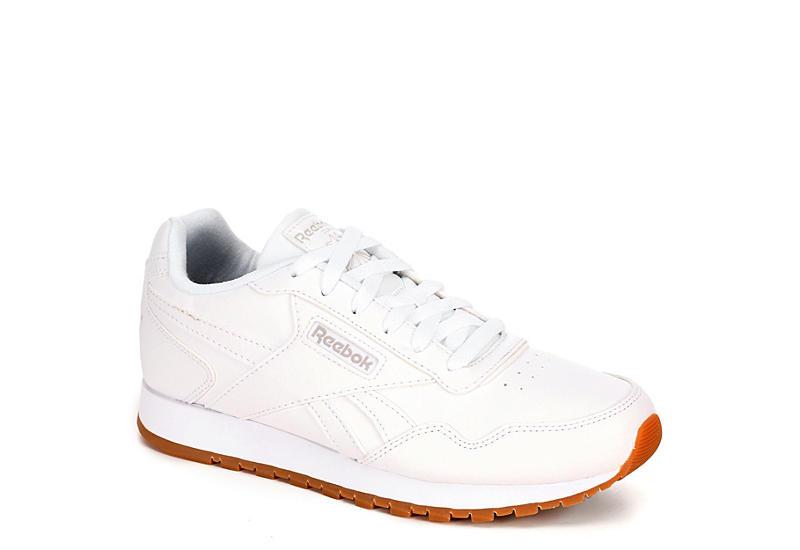 WHITE REEBOK Womens Classic Harman Run