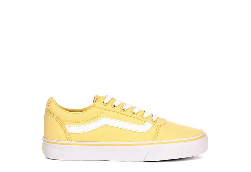 Yellow Vans Ward Low Top Women s Sneakers  4fac2c7b1
