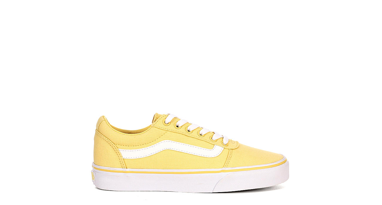 d762b03806 Yellow Vans Ward Low Top Women s Sneakers