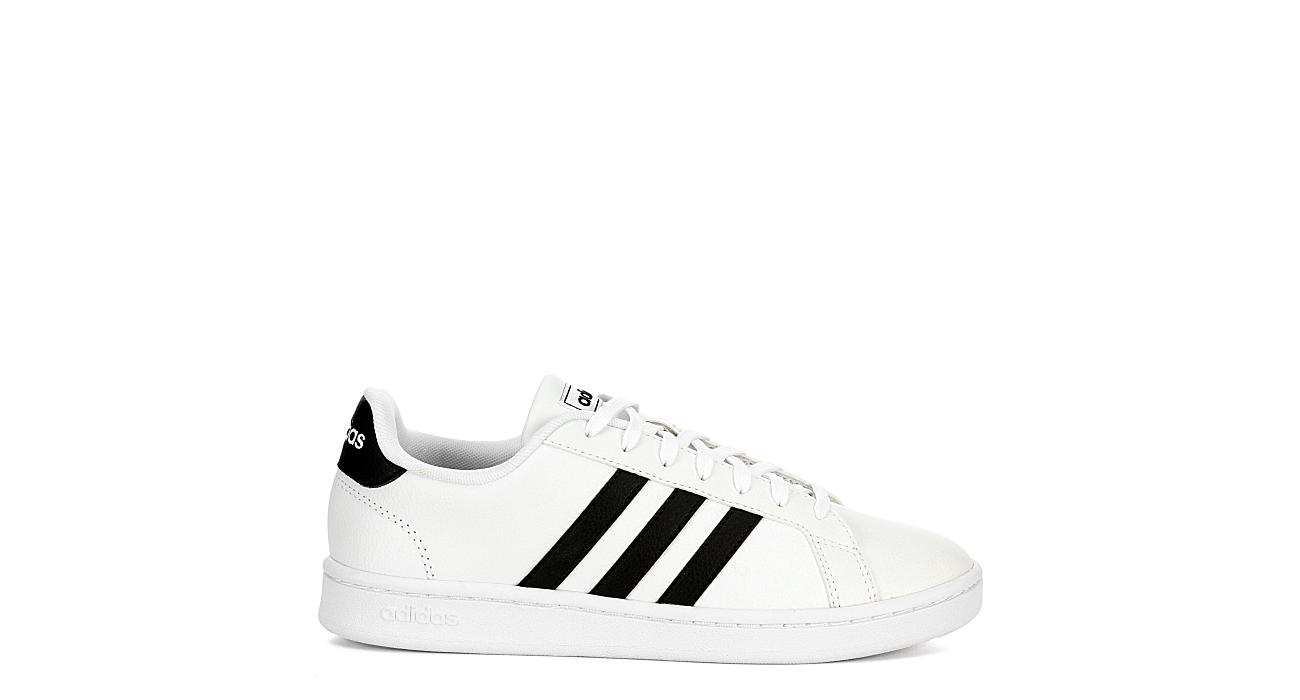 2b7133975 White   Black adidas Grand Court Women s Sneakers