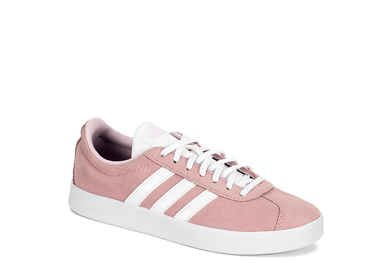 PALE PINK ADIDAS Womens Vl Court 2.0