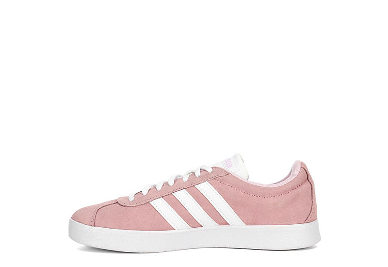 Adidas Womens Vl Court 2.0 Pale Pink