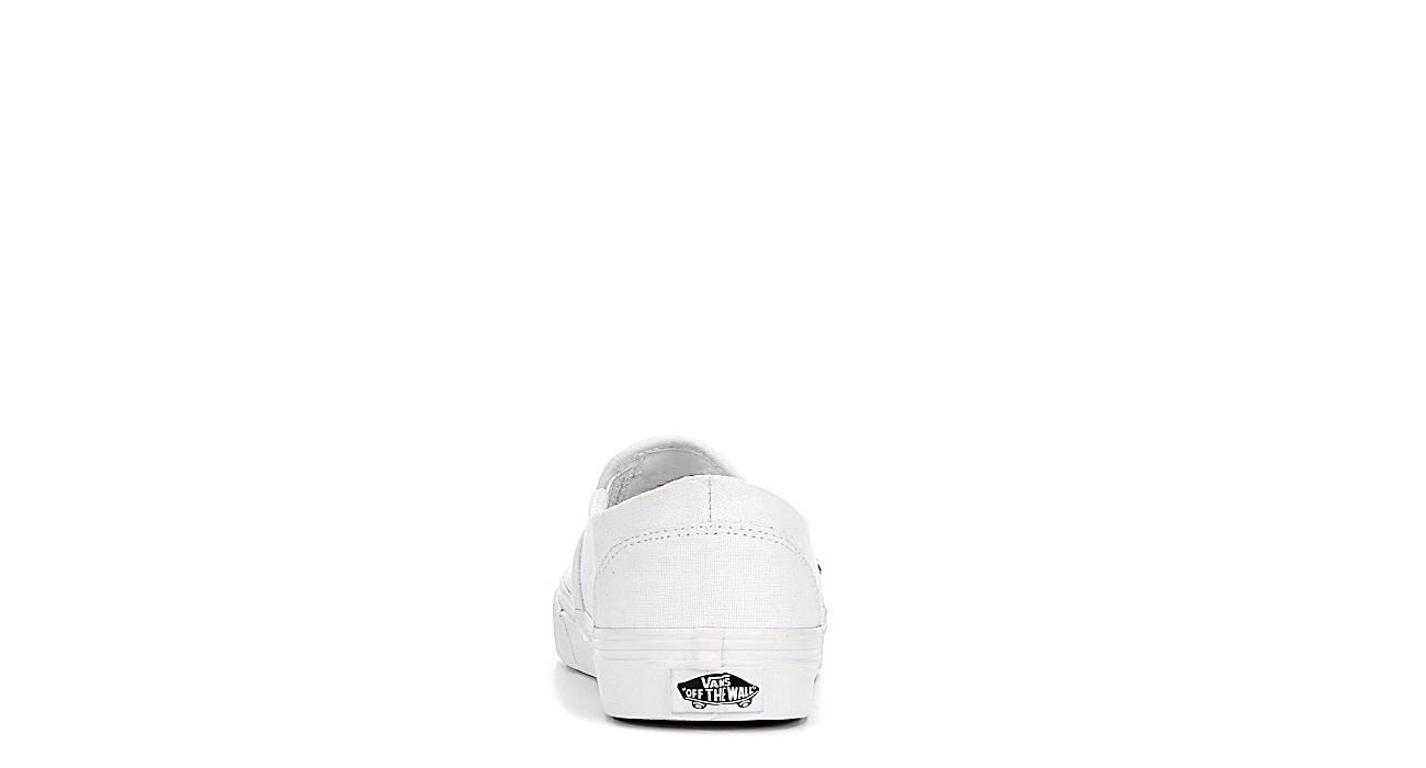 VANS Womens Asher Slip-on - WHITE