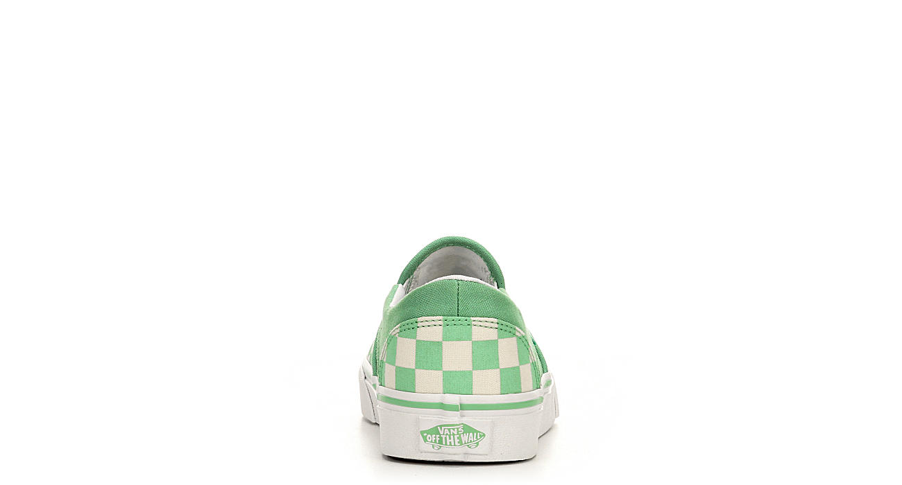 VANS Womens Asher Slip-on - GREEN