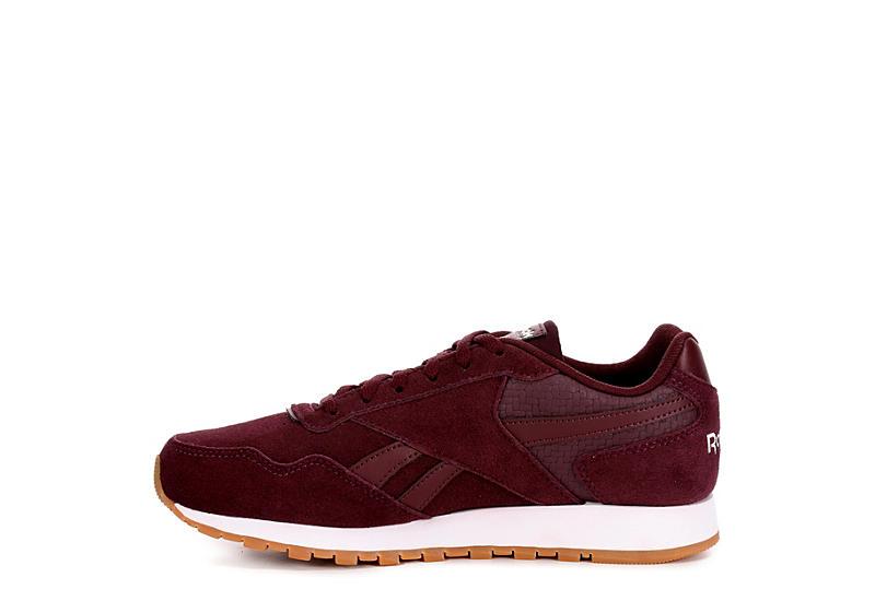 REEBOK Womens Cl Harman Run Sneaker - BURGUNDY