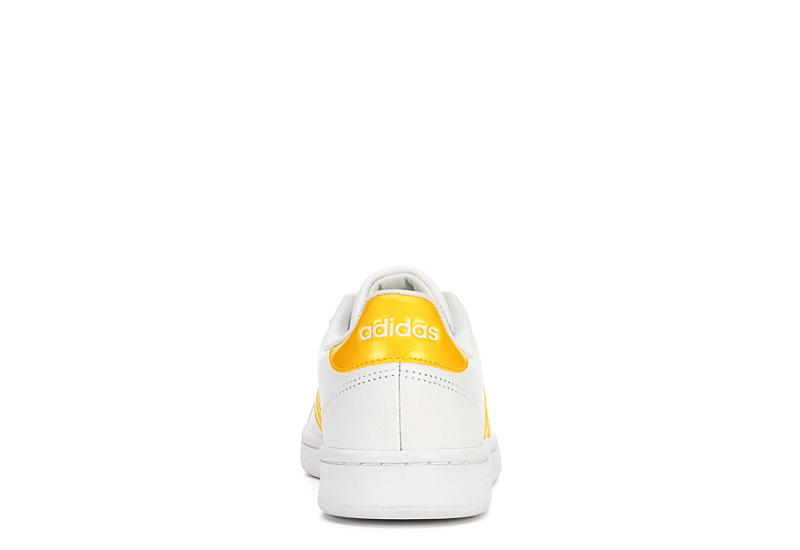 ADIDAS Womens Grand Court - WHITE