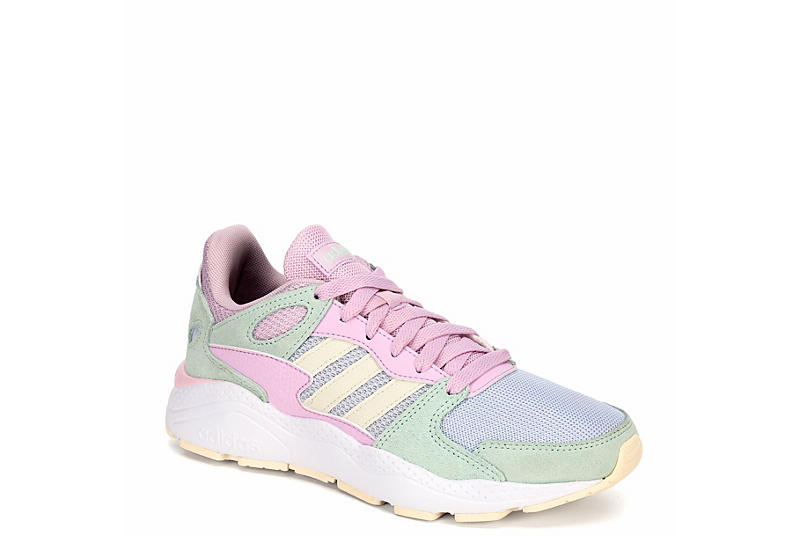PINK ADIDAS Womens Crazychaos