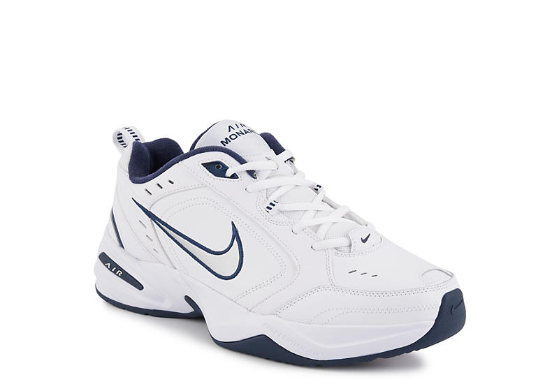 5ff1697d160f7 White Nike Air Monarch IV Men's Training Shoes | Rack Room Shoes
