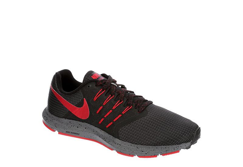 BLACK NIKE Mens Run Swift Trail Running Shoe